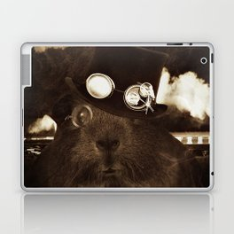 Steampunk Guinea Pig Laptop & iPad Skin