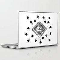 cycling Laptop & iPad Skins featuring Contingency Cycling by Night Version
