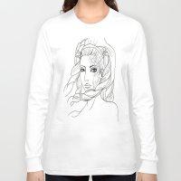 shiva Long Sleeve T-shirts featuring Shiva by Laura Bou
