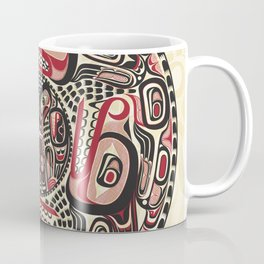 Creation Story - Four Wolves Coffee Mug