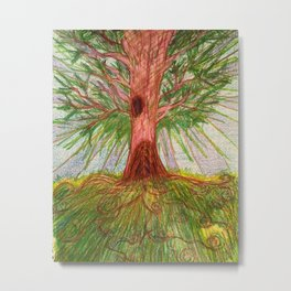 Our Tree Metal Print