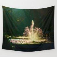 apollo Wall Tapestries featuring The Fountain of Apollo (soft) by Svetlana Korneliuk