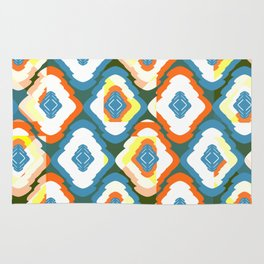 Shapes- funny and colorful Rug