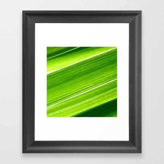 green grass IV Framed Art Print
