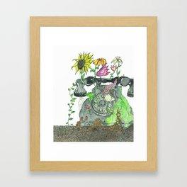 Technological Growth Framed Art Print