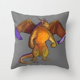Boris Spyro Throw Pillow