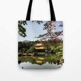 Kinkaku-ji Temple (Japan) Tote Bag