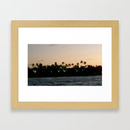 Fisher Island Framed Art Print