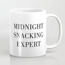 MIDNIGHT SNACKING EXPERT Coffee Mug