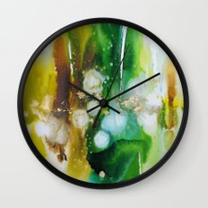 emeraude ombré Wall Clock