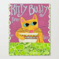 Kitty Buddy Canvas Print