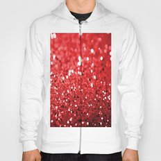 Glitter Red Hoody