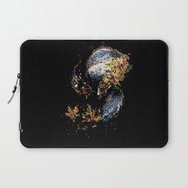 Venetian Mask Blue Devil Laptop Sleeve