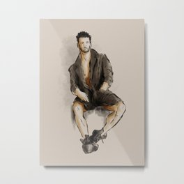 Model watercolor study Metal Print
