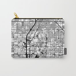 Las Vegas city map Carry-All Pouch