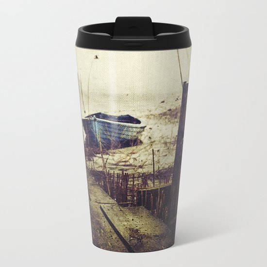 Rugged fisherman Metal Travel Mug