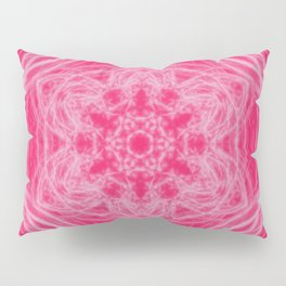 Elegant hot-pink kaleidoscopes Pillow Sham