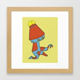 Cool Bot Framed Art Print