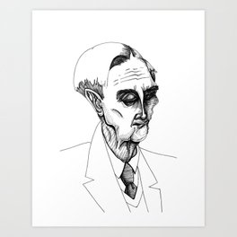 eo wilson Art Print