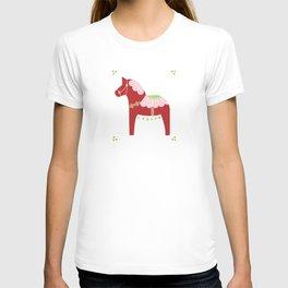 Valentine Dala Horse T-shirt