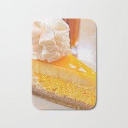 Cheesecake #food #dessert #sweets Bath Mat