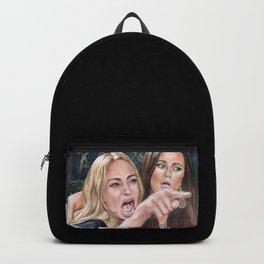Woman Yelling at Cat Meme-1 Backpack