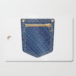 Zipper Pocket Cutting Board