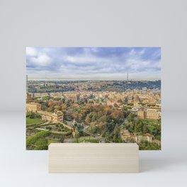 Vatican Gardens Aerial View, Rome, Italy Mini Art Print