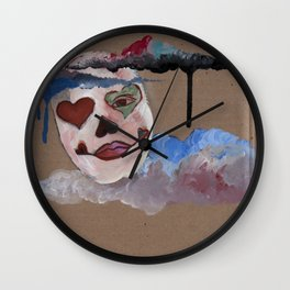 Still Here Wall Clock