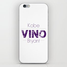 VINO (Purple) iPhone Skin