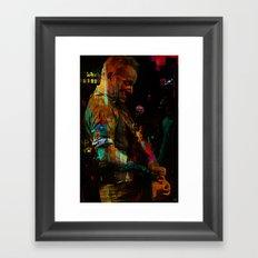 Bruce S. Framed Art Print