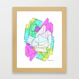 The Shape Framed Art Print