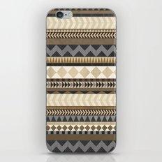 Dusty Aztec Pattern iPhone Skin