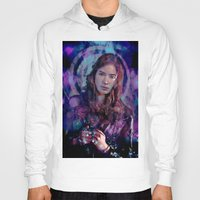 amy pond Hoodies featuring Amy Pond by Sirenphotos