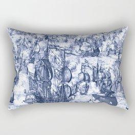 Naval Conquest Rectangular Pillow