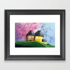 House A Home Framed Art Print