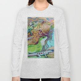A Tangle Of Lizards, Lizard Art Long Sleeve T-shirt