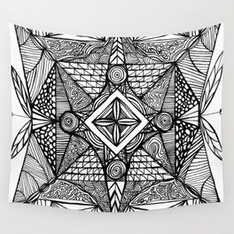 Psychosis Wall Tapestry
