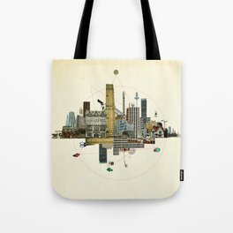 Collage City Mix 8 Tote Bag