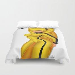 Hot Banana Duvet Cover