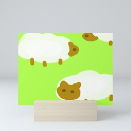 sheeps Mini Art Print