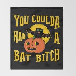 You Coulda Had A Bat B Throw Blanket