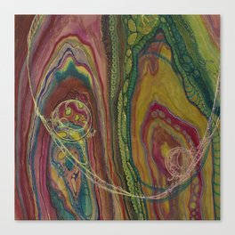 Sublime Compatibility (Intimate Reciprocity) Canvas Print
