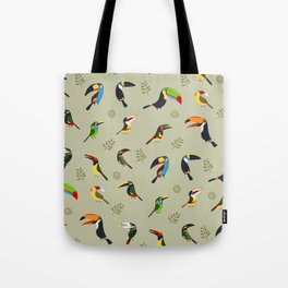Toucans by Lili Chin Tote Bag