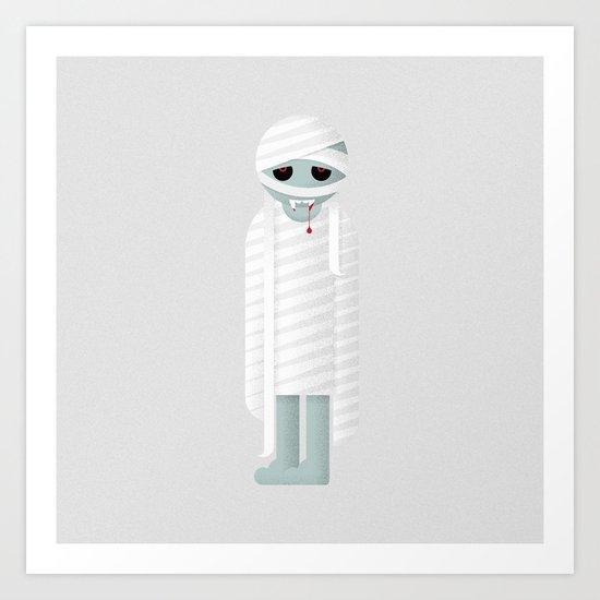 Vampire / Mummy Art Print