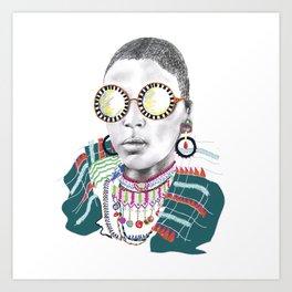AYO I Art Print