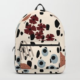 Cheetah Floral Backpack