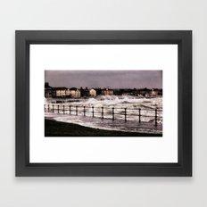 Ardrossan Storm  Framed Art Print