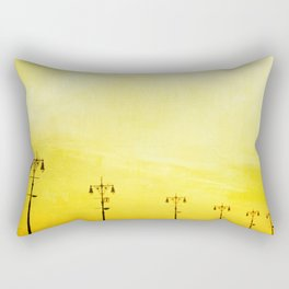 Coney Island Boardwalk Rectangular Pillow