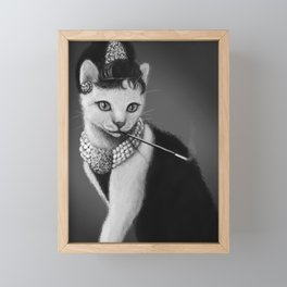 Audrey Catburn Framed Mini Art Print